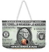 One Dollar - Not What It Used To Be Weekender Tote Bag