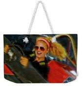 One Fast Girl Weekender Tote Bag