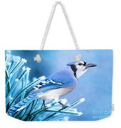 One Frosty Morning Weekender Tote Bag