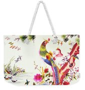 One Hundred Birds With A Phoenix, Canton, Republic Period Weekender Tote Bag