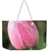 One Lovely Pink Tulip Weekender Tote Bag