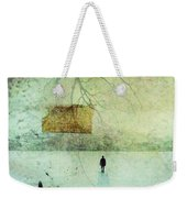 One Man In The Winter Of His Life Weekender Tote Bag