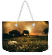 one morning in Clare Weekender Tote Bag