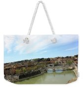 One Of Rome's Bridge Weekender Tote Bag