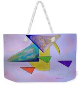 One Over Two Under Three Weekender Tote Bag