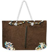 One Pill Makes You...go Ask Alice Weekender Tote Bag