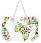 One Planet Weekender Tote Bag