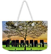 One Positive Eight Negatives Weekender Tote Bag