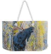 One Proud Bull Moose Weekender Tote Bag