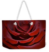 One Red Rose Weekender Tote Bag