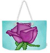 One Rose Everyday Weekender Tote Bag