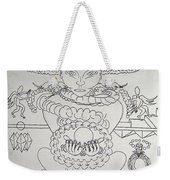 One Thru Nine Drawing Weekender Tote Bag