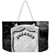 One Unknown Weekender Tote Bag