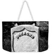 One Unknown Weekender Tote Bag