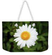 One White Daisy Weekender Tote Bag