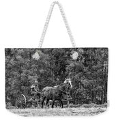 One With The Land - Bw Weekender Tote Bag
