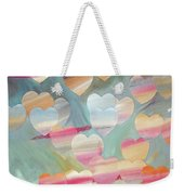 One With The Sky Weekender Tote Bag