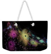 One World No.6 - Fractal Art Weekender Tote Bag