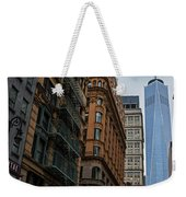 One World Trade Center New York Ny From Nassau Street Weekender Tote Bag