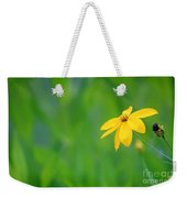One Yellow Coreopsis Flower Weekender Tote Bag