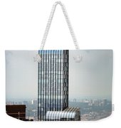 One57 And Park Hyatt Hotel In Nyc Weekender Tote Bag