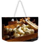 Onions Blancs Frais Weekender Tote Bag