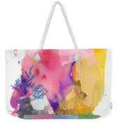Oniric Landscape Reflections With Sun And Bird Weekender Tote Bag