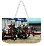 Only A Mile To Go Weekender Tote Bag