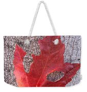 Only One Leaf To Live Weekender Tote Bag