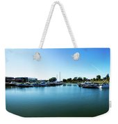 Ontario Beach Park Marina Weekender Tote Bag by William Norton