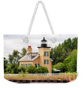 Ontonagon Lighthouse Weekender Tote Bag