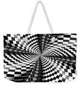 Op Art Twist Weekender Tote Bag