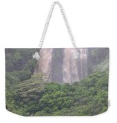Opaekaa Falls On Kauai During A Storm Weekender Tote Bag