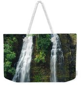 Opaekaa Waterfall Weekender Tote Bag