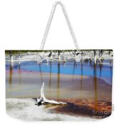 Opalescent Pool Yellowstone Np Weekender Tote Bag