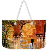 Open Air Bed Among The Arches India Rajasthan 1a Weekender Tote Bag