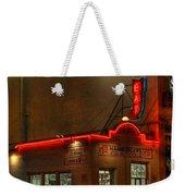 Open All Nite-texas Tavern Weekender Tote Bag