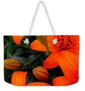 Open And Closed Weekender Tote Bag