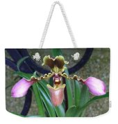 Open Arms Orchid Weekender Tote Bag