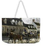 Open Carriage Ride In Colonial Williamsburg Virginia Weekender Tote Bag