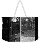 Open Door B-w Weekender Tote Bag
