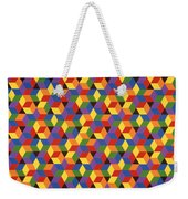 Open Hexagonal Lattice I Weekender Tote Bag