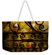 Open Iron Gate Weekender Tote Bag