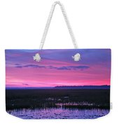 Open Marsh Weekender Tote Bag