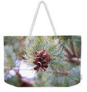 Open Pine Cone Weekender Tote Bag