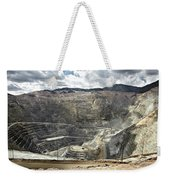 Open Pit Mine, Utah, United States Weekender Tote Bag