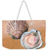 Open Scallop Weekender Tote Bag