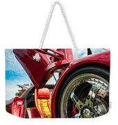 Open Sesame Red - Lamborghini Diablo  Weekender Tote Bag