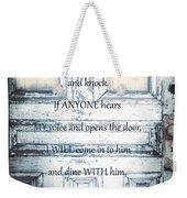 Open Your Heart Weekender Tote Bag