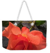 Opened Rose  Weekender Tote Bag